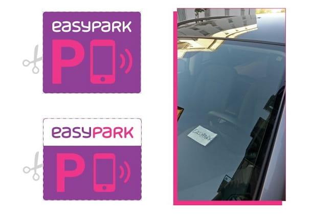 Adesivo EasyPark
