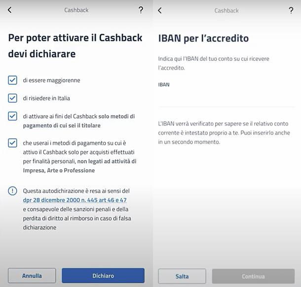 App per cashback IO