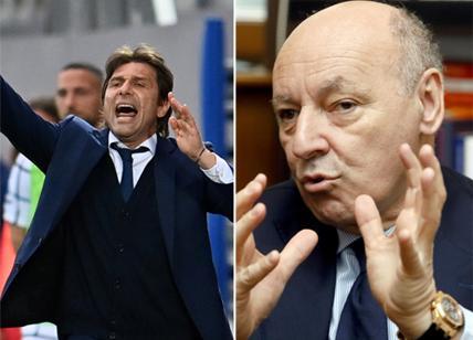 Antonio Conte e Marotta, gli 'uomini Juve' consegnano lo scudetto all'Inter