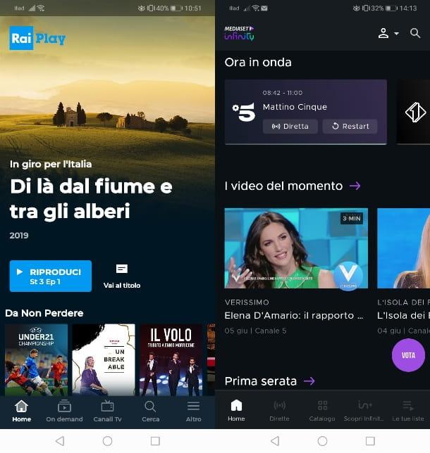 Come vedere TV gratis su Android