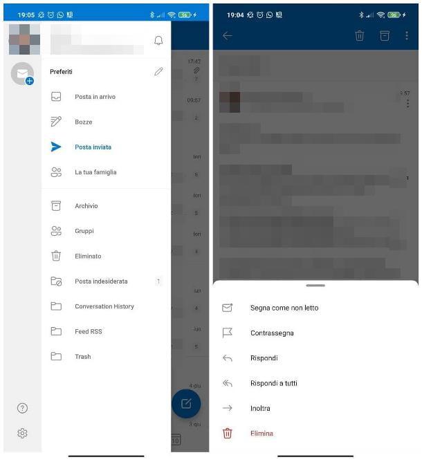 Rinviare una mail con Outlook