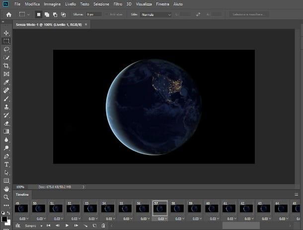 Come creare una GIF da un video con Photoshop