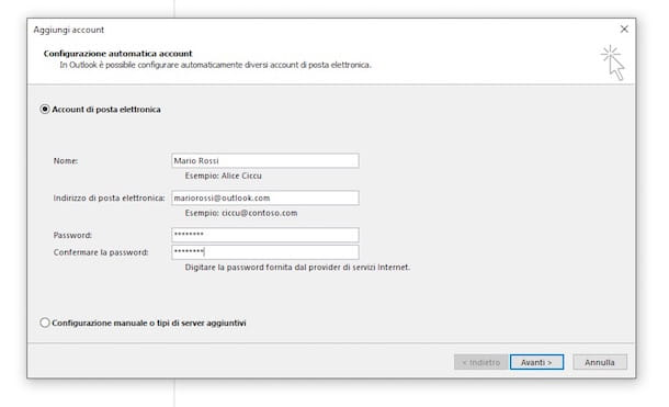 Come esportare mail da Outlook