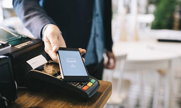 pagare con NFC