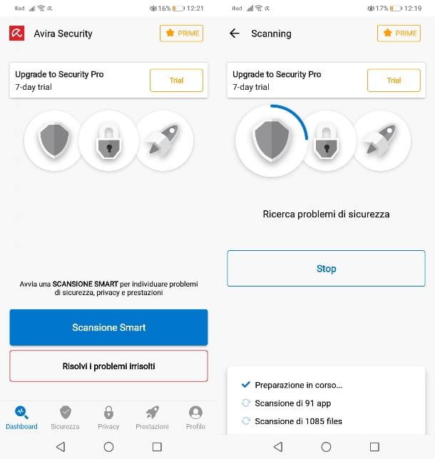 Avira Security Internet