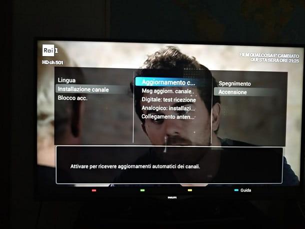 Come risintonizzare la TV Philips