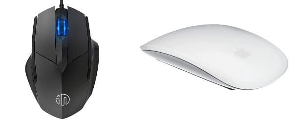 Mouse Mac con cavo o wireless