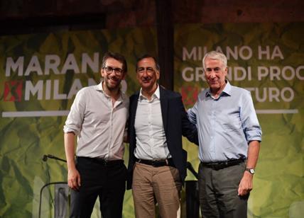 "Maran, presentazione-boom in Bovisasca. Sala su Bernardo: ""Apprendista"""