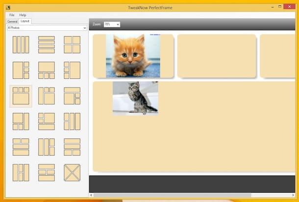 Screenshot di TweakNow PerfectFrame