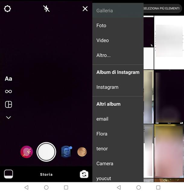 Come caricare video su Instagram Stories