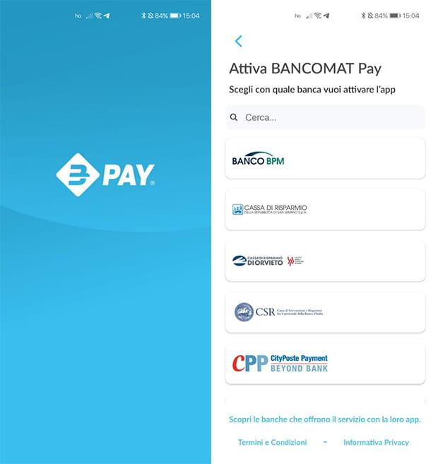Come attivare BANCOMAT Pay