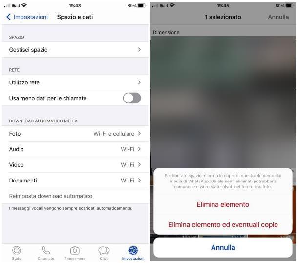Come pulire il cellulare da file inutili: iPhone