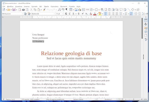 LibreOffice DOCX