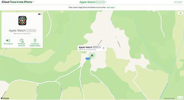 Come trovare Apple Watch con PC